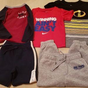 5 Piece Bundle of Toddler Boys Clothes